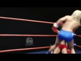 Summer Cummings vs J.C.Marie.topless boxing..DT-873-01dl(S.G.)